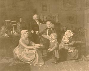 [Die Adoption, por Ferdinand Georg Waldmüller]