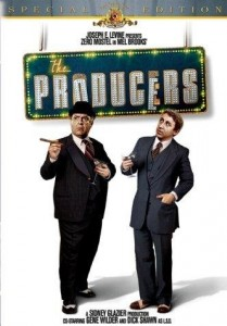 [The Producers poster]
