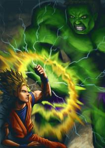 [Goku vs Hulk]
