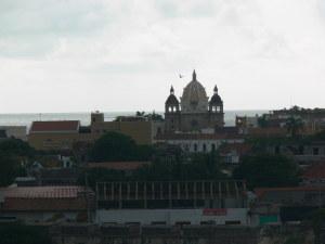 Cartagena (vista desde el Castillo de San Felipe de Barajas)