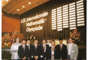 Equipo colombiano en 1989, Brunsvick, Alemania Occidental