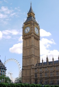 Big Ben y London Eye