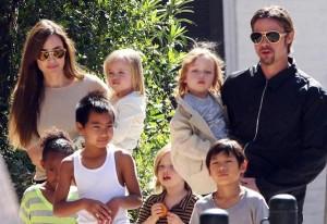 Familia Jolie Pitt, tomado de Saidi Beauty