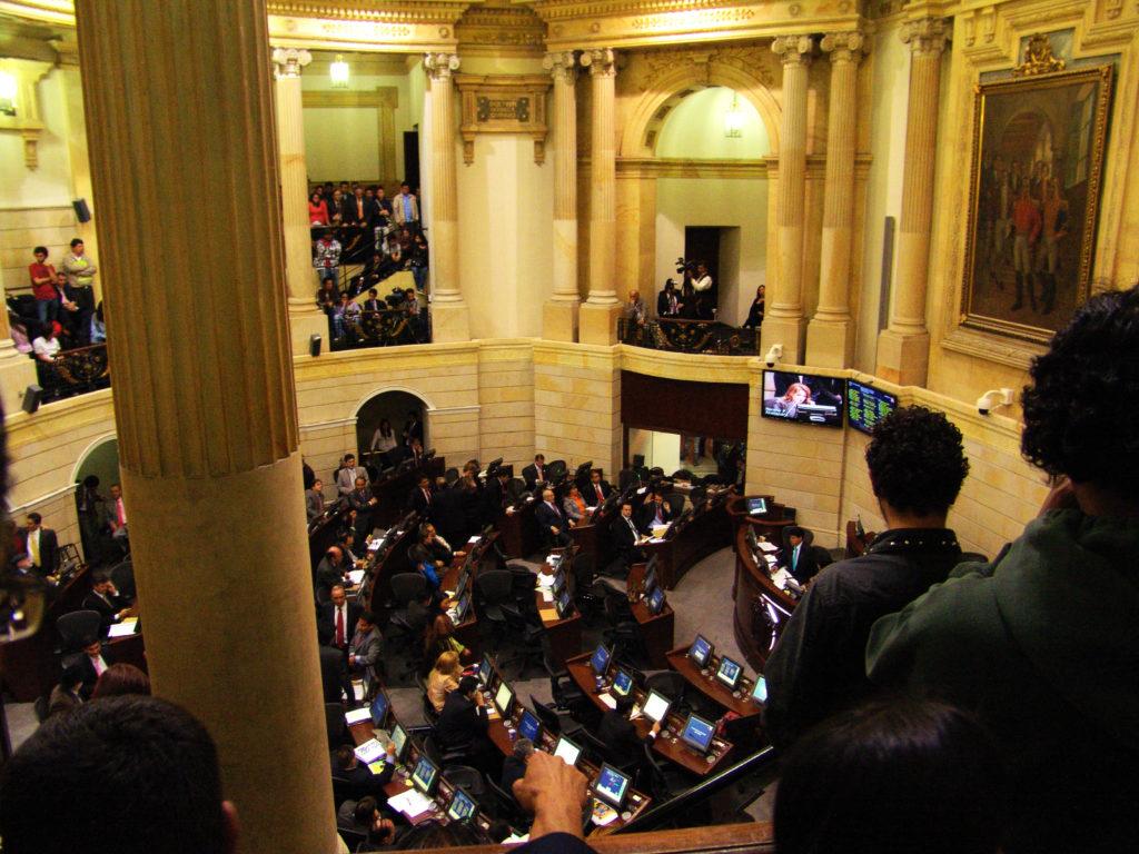 Panorama Senado Colombia